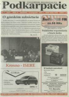Nowe Podkarpacie : tygodnik regionalny. - R. 4, nr 19 (5 list. 1997) = 201