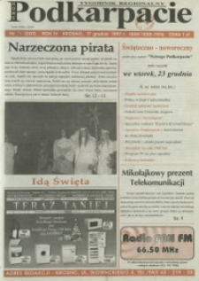 Nowe Podkarpacie : tygodnik regionalny. - R. 4, nr 25 (17 grudz. 1997) = 207