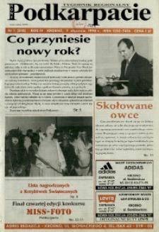 Nowe Podkarpacie : tygodnik regionalny. - R. 4, nr 1 (7 stycz. 1998) = 210