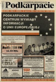 Nowe Podkarpacie : tygodnik regionalny. - R. 6, nr 23 (10 czerw. 1998) = 232