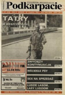 Nowe Podkarpacie : tygodnik regionalny. - R. 6, nr 39 (30 wrzes. 1998) = 248