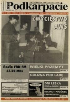 Nowe Podkarpacie : tygodnik regionalny. - R. 6, nr 41 (14 paźdz. 1998) = 250