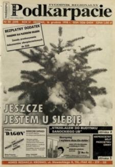 Nowe Podkarpacie : tygodnik regionalny. - R. 6, nr 50 (16 grudz. 1998) = 259