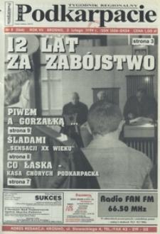 Nowe Podkarpacie : tygodnik regionalny. - R. 7, nr 5 (3 luty 1999) = 266