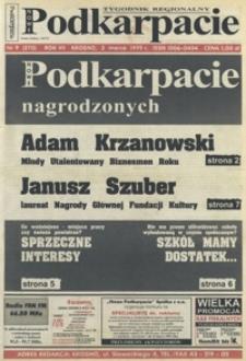 Nowe Podkarpacie : tygodnik regionalny. - R. 7, nr 9 (3 marz. 1999) = 270
