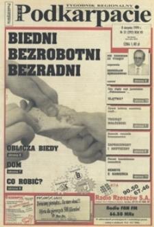 Nowe Podkarpacie : tygodnik regionalny. - R. 7, nr 31 (8 sierp. 1999) = 292