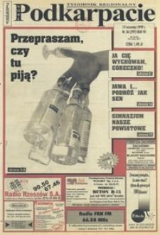 Nowe Podkarpacie : tygodnik regionalny. - R. 7, nr 36 (12 wrzes. 1999) = 297