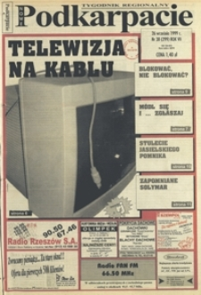 Nowe Podkarpacie : tygodnik regionalny. - R. 7, nr 38 (26 wrzes. 1999) = 299