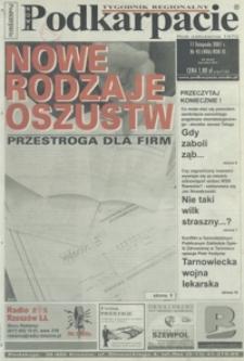 Nowe Podkarpacie : tygodnik regionalny. - R. 9, nr 45 (11 list. 2001) = 406