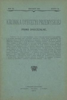 Kronika Dyecezyi Przemyskiej : pismo dyecezalne. - R. 3, z. 12 (grudz 1903)