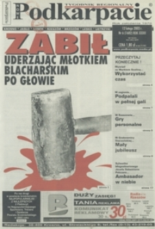 Nowe Podkarpacie : tygodnik regionalny. - R. 33, nr 6 (12 luty 2003) = 1682