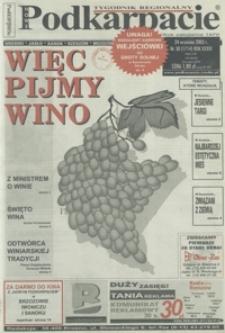 Nowe Podkarpacie : tygodnik regionalny. - R. 33, nr 38 (24 wrzes. 2003) = 1714