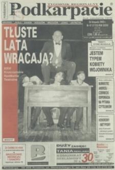 Nowe Podkarpacie : tygodnik regionalny. - R. 33, nr 47 (26 list. 2003) = 1723