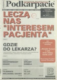 Nowe Podkarpacie : tygodnik regionalny. - R. 34, nr 1 (7 stycz. 2004) = 1728