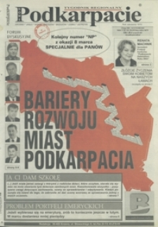 Nowe Podkarpacie : tygodnik regionalny. - R. 34, nr 8 (25 luty 2004) = 1735