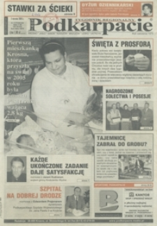 Nowe Podkarpacie : tygodnik regionalny. - R. 35, nr 1 (5 stycz. 2005) = 1779)