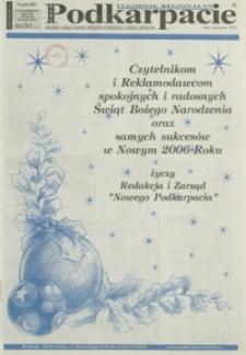 Nowe Podkarpacie : tygodnik regionalny. - R. 35, nr 51/52 (21 grudz. 2005) = 1830