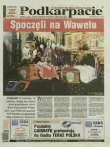 Nowe Podkarpacie : tygodnik regionalny. - R. 40, nr 16 (21 kwiec. 2010) = 2050