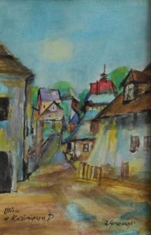 Ulica w Kazimierzu Dolnym [Dokument ikonograficzny]