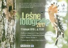 Leśne Fotografie 2017 [Afisz]