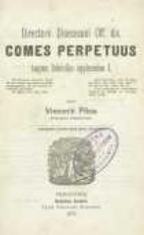 Directorii Dioecesani Officii divini Comes perpetuus tanquam Rubricellae supplementum 1