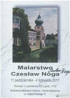 Czesław Noga [Afisz] : malarstwo