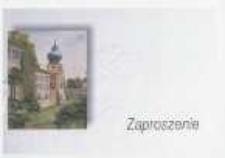 Otwarcie wystawy malarstwa Czesława Nogi [Zaproszenie]