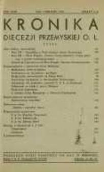 Kronika Diecezji Przemyskiej o[brządku] ł[acińskiego]. - R. 43, z. 5/6 (maj/czerw. 1957)