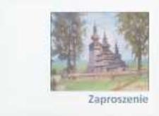 """Otwarcie wystawy malarstwa Edwarda Woźnego """"Natura i architektura"""" [Zaproszenie]"""
