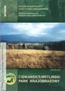 Cisniańsko-Wetliński Park Krajobrazowy : informator