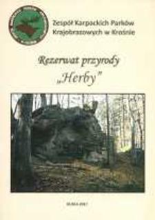 """Rezerwat przyrody """"Herby"""" [Informator]"""