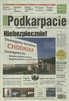 Nowe Podkarpacie : tygodnik regionalny. - R. 45, nr 39 (24 wrzes. 2014) = 2278