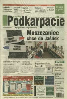 Nowe Podkarpacie : tygodnik regionalny. - R. 46, nr 27 (8 lip. 2015) = 2319