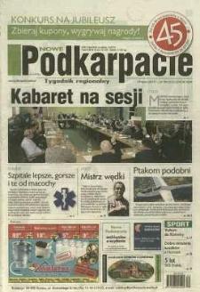 Nowe Podkarpacie : tygodnik regionalny. - R. 46, nr 30 (29 lip. 2015) = 2322