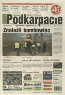 Nowe Podkarpacie : tygodnik regionalny. - R. 46, nr 45 (10 list. 2015) = 23348