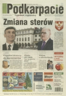 Nowe Podkarpacie : tygodnik regionalny. - R. 46, nr 49 (9 grudz. 2015) = 23352