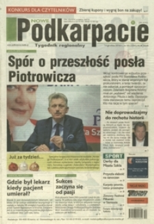 Nowe Podkarpacie : tygodnik regionalny. - R. 47, nr 50 (14 grudz. 2016) = 2395