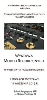 Wystawa modeli redukcyjnych [Informator]