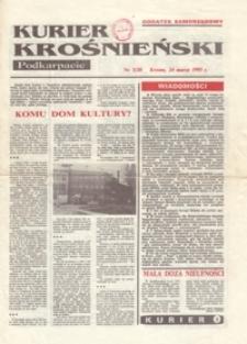 Kurier Krośnieński : Podkarpacie : dodatek samorządowy. - 1993, nr 3 (24 marz.) = 20