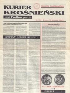 Kurier Krośnieński : Nowe Podkarpacie : dodatek samorządowy. - 1994, nr 1 (26 stycz.) = 30