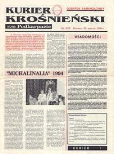 Kurier Krośnieński : Nowe Podkarpacie : dodatek samorządowy. - 1994, nr 3 (30 marz.) = 32