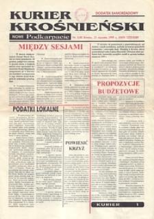 Kurier Krośnieński : Nowe Podkarpacie : dodatek samorządowy. - 1995, nr 1 (25 stycz.) = 42