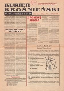 Kurier Krośnieński : Nowe Podkarpacie : dodatek samorządowy. - 1995, nr 7 (26 lip.) = 47