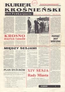 Kurier Krośnieński : Nowe Podkarpacie : dodatek samorządowy. - 1995, nr 9 (27 wrzes.) = 49