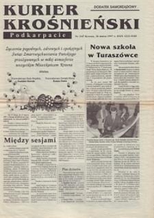 Kurier Krośnieński : Nowe Podkarpacie : dodatek samorządowy. - 1997, nr 3 (26 marz.) = 67