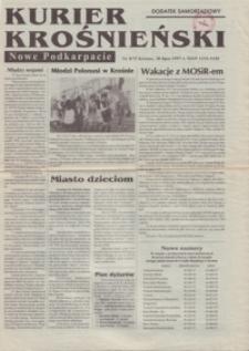 Kurier Krośnieński : Nowe Podkarpacie : dodatek samorządowy. - 1997, nr 8 (30 lip.) = 72