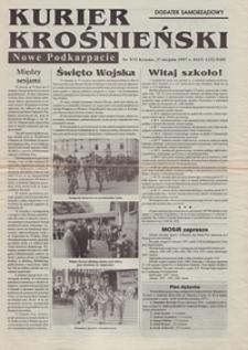 Kurier Krośnieński : Nowe Podkarpacie : dodatek samorządowy. - 1997, nr 9 (27 sierp.) = 73