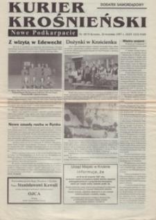 Kurier Krośnieński : Nowe Podkarpacie : dodatek samorządowy. - 1997, nr 10 (24 wrzes.) = 74