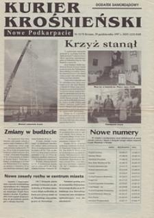 Kurier Krośnieński : Nowe Podkarpacie : dodatek samorządowy. - 1997, nr 11 (29 paźdz.) = 75