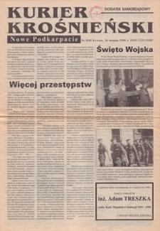Kurier Krośnieński : Nowe Podkarpacie : dodatek samorządowy. - 1998, nr 8 (26 sierp.) = 85